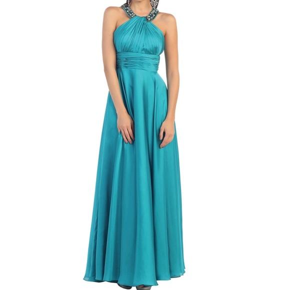 8a43d7b1b352 Aspeed Dresses   Design Teal Dress Xs   Poshmark